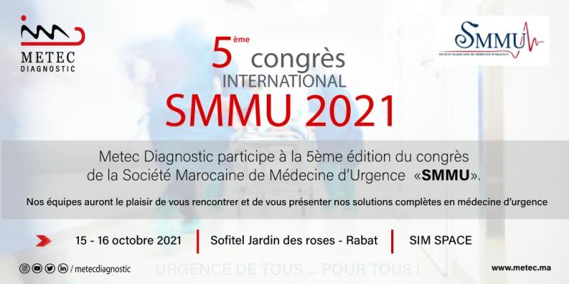 Participation Metec Diagnostic à la 5ème édition du congrès SMMU 2021