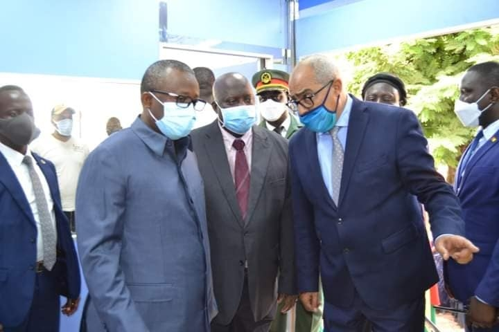Lancement de la caravane médicale marocaine Metec Africa à Bissau