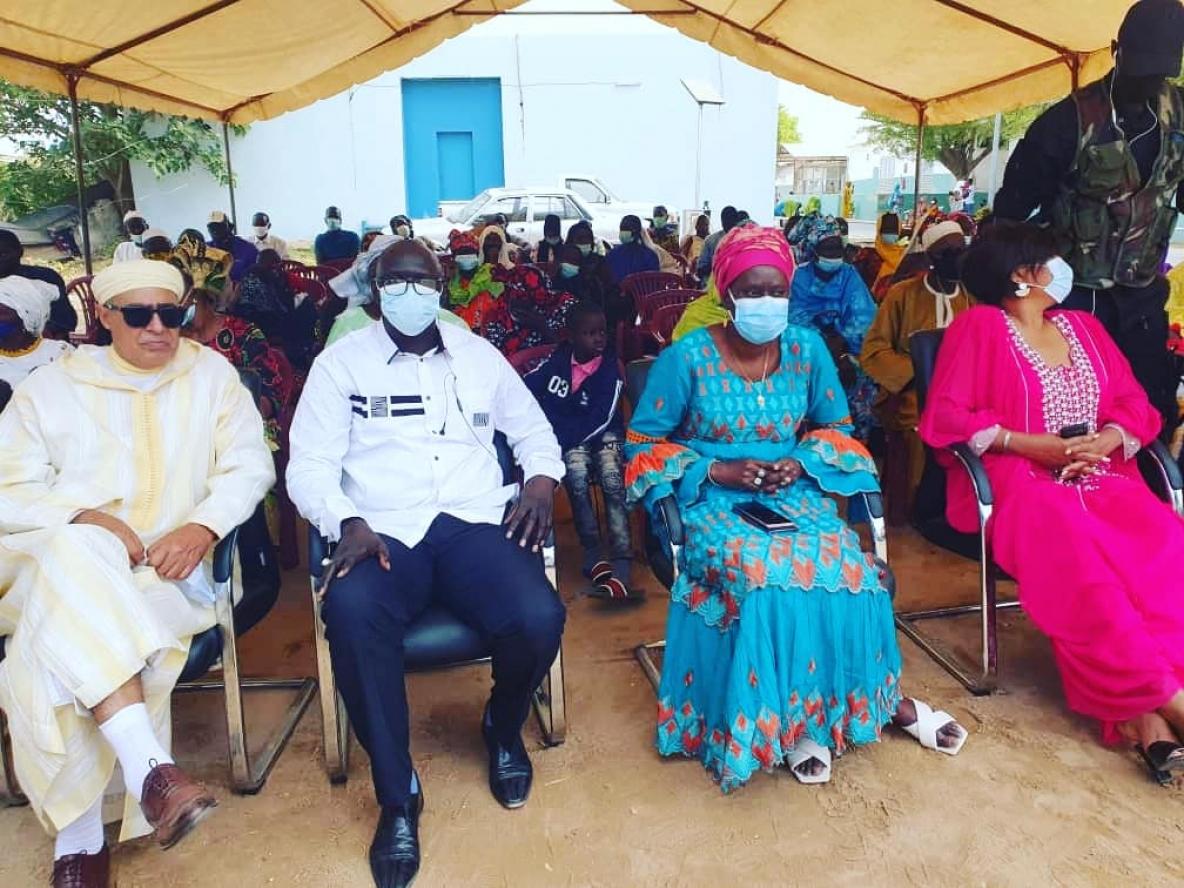 Lancement de la caravane médicale marocaine#MetecAfricaau Sénégal